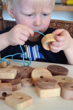 Six Simple Fine Motor Activities