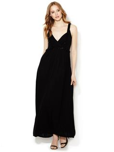 Embellished Jersey Maxi Dress by Magaschoni at Gilt