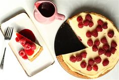 Cookie Jar : Cheesecake cu zmeura