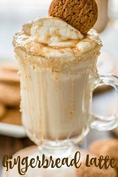 Delicious, Easy, Homemade Gingerbread Latte Recipe