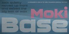 Moki™ - Webfont & Desktop font « MyFonts