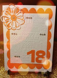 Invito o Card per Diciottesimo Compleanno