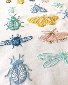 Embroidery Thread Looping On Top neither Embroidery Patterns Sewing Machine under Embroidery Designs Library Janome after Embroidery Near Me Louisville Ky Hand Embroidery Stitches, Silk Ribbon Embroidery, Crewel Embroidery, Cross Stitch Embroidery, Embroidery Needles, Embroidery Ideas, Hand Stitching, Embroidery Store, Hand Embroidery Designs