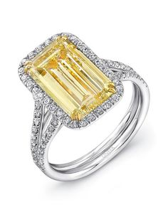 Uneek Engagement Ring | https://trib.al/udamnVU