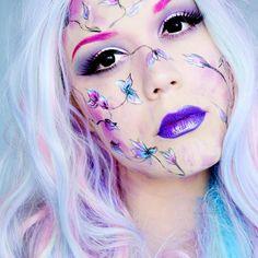 ?🍀 Elf Spring 🍀 artistique makeup fairy Face Awards, Fantasy Make Up, Awesome Makeup, Elf Makeup, Freestyle, Spring, Best Makeup Products, Halloween Face Makeup, Fairy