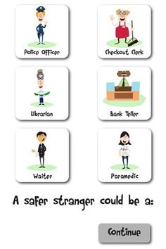 Safer Strangers- A Stranger Danger Social Story Staying Safe and Safer Strangers Social Story Two community safety social stories. One story focuses on safer strangers and buildings, and the other focuses on what to do if you are lost. Teaching Safety, Teaching Kids, Protective Behaviours, Stranger Danger, Personal Safety, Daycare Crafts, Health Lessons, Social Stories, School