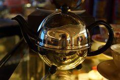 Tea Pot dispaly in Tea Room in Star Hill Gallery, Kuala Lumpur, Malaysia