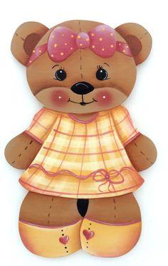 HP FRIDGE MAGNET Bear in yellow dress  ebay downsilverpath
