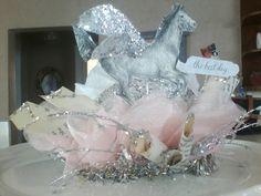 Vintage Inspired Horse Lover Crown, Tiara, Pink!