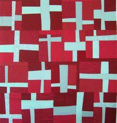 creux quilt, plus quilt by square one studio, via Flickr......