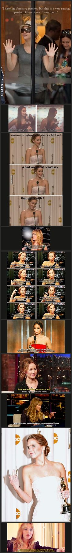Oh, Jennifer Lawrence.