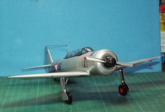 Geli Modell Nr 16 Jak 11, Papiermodell 1:33 Fighter Jets, Aircraft, Aviation, Plane, Airplanes, Planes, Airplane, Jets