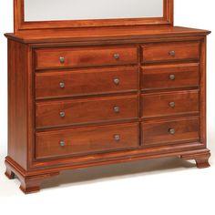 Amish Classic Triple Dresser by Daniel's Amish
