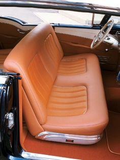 1957 Oldsmobile Fiesta wagon - Rod And Custom Magazine - Hot Rod Best Car Interior, Custom Car Interior, Car Interior Design, Truck Interior, Classic Pickup Trucks, Ford Pickup Trucks, Dodge Pickup, Ford 4x4, Chevy Trucks