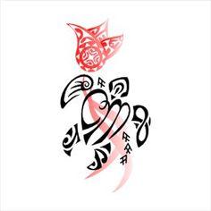C+M JA turtle and flower tattoo