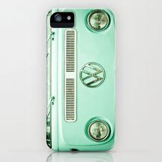 Summer of Love iPhone & iPod Case by Olivia Joy StClaire - $35.00 Vintage VW Volkswagen