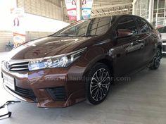 ขายรถเก๋ง TOYOTA COROLLA โตโยต้า โคโรล่า อัลติส รถปี2013 สีน้ำตาล