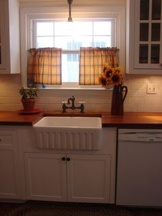 "from awful to simple, my kitchen for 1920s Colonial.  the kitchen must have been ""remodeled"" sometime in the 60s But as you can tell from the Before pictures the room was less than desirable.  Can anyone top my before pictures?  , , Kitchens Design"