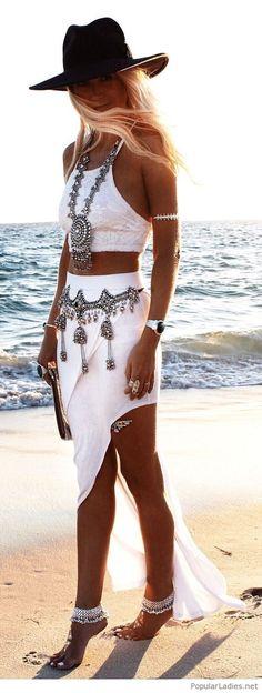 I like this boho style