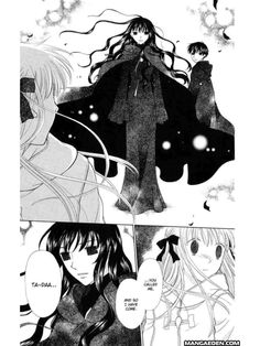 "From ""Fruits Basket"" manga. Definitely one of my all time favorites <3 oh Hana-chan. You're so cute!!!!"