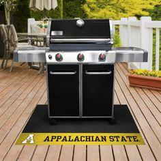 "Appalachian State Mountaineers Vinyl Grill Mat 26"""" x 42"""""