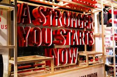 NIKE WOMENS HOLIDAY CAMPAIGN, Strategy, Design & Build by Seen Displays