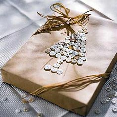 Dress your gifts in something special this year, adding a personal touch to any size package: http://www.bhg.com/christmas/gift-wrapping/last-minute-gift-wrapping/?socsrc=bhgpin121214buttongiftwrap&page=13