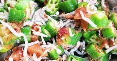 オクラが止まらない☆しらすと梅鰹ぶしあえ by ☆さくえり☆ [クックパッド] 簡単おいしいみんなのレシピが269万品