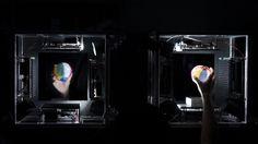 Japoneses crean hologramas que se pueden manipular