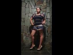 Blusa de Crochê de grampo azul marinho By Arleia - YouTube