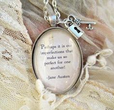 What a beautiful necklace! I could totally see Sam from Dear Mr. Knightly having this! #FavoriteAustenMoment #DearMrKnightley #FEELS