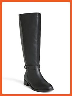 Faux Leather & Wool Boots (Wide Width & Wide Calf) - Boots for women (*Amazon Partner-Link)
