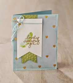 Stampin' Up! Lovely Amazing You