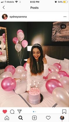 Cute Birthday Pictures, Birthday Ideas For Her, Birthday Goals, Birthday Party For Teens, Birthday Photos, Birthday Celebration, Birthday Post Instagram, Tumblr Birthday, 19th Birthday