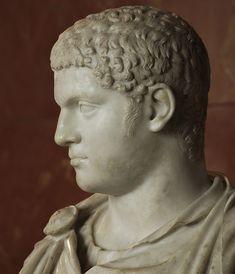 Portrait head of Geta, circa 208 C.E. Paris, Louvre Museum. Photo by S. Sosnovskiy.
