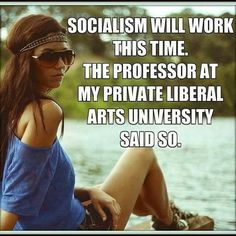Socialism has never worked anywhere before. Why will it work now unless the plan is to use it for national destruction to usher in the NWO. CHECK OUT HISTORY AND WHAT'S GOING ON NOW IN SOCIALIST VENEZUELA NOW...START THINKING FOR YOURSELF....HUMMM...SEE IT FAILS. EVERYTIME!!!!
