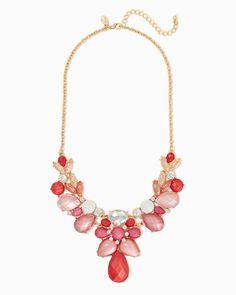 charming charlie   Sonya Estate Bib Necklace   UPC: 410007571487 #charmingcharlie