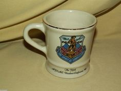 FIFTH AFCAC VENDORS CONFERENCE 1985 MUG CUP AIR FORCE SPIRIT COMPETITION MIL-ART