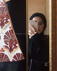 A dream in this year if you have the right word - Modern Hijab Fashion, Bohemian Chic Fashion, Hijab Fashion Inspiration, Arab Fashion, Beautiful Hijab Girl, Beautiful Girl Makeup, Hijab Style, Hijab Chic, Hijabi Girl