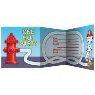 Firefighter Invitations (8pk) $7.95 20895771