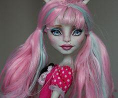 OOAK Monster High Rochelle Repaint #Dolls
