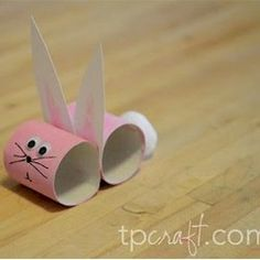 All right, something to keep the kids busy one afternoon? TP Bunny Craft