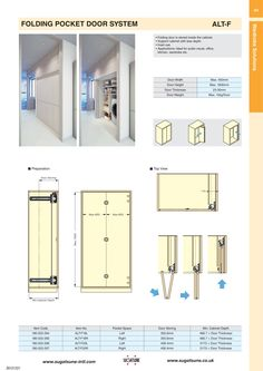 Bi Fold Door Rough Opening Framing Diagram In 2019