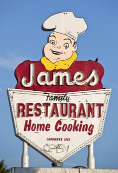 James Family Restaurant ~ San Fernando, CA
