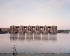 Ricardo Bofill - Le Viaduc et les Arcades du Lac, Montigny-le-Bretonneux