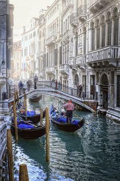 Veneza, na Itália.                                                                                                                                                                                 Mais