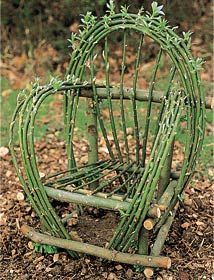 Gypsy Willow Chairs on Pinterest | Twig Furniture, Basket Weaving ...