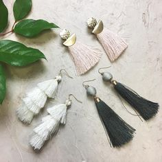 Make a statement with new tassel earrings... #lizardthicketboutique #lizardthicket #statementearrings #accessories #new #need #earrings #ontrend