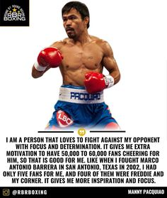 Manny Pacquiao likes that Jeff Horn will have a full stadium of supporters.  _________________________ #Boxing #Boxeo #RoundByRoundBoxing #RBRBoxing #RBRBuzz #BoxingHype #BoxingFanatik #BoxingGuru #PacHorn #PacquiaovsHorn #TopRank #TRBoxing #WBO #Aussie #SunCorp #ESPN #PacquiaoHorn #BattleofBrisbane