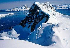Paradise Bay, Antarctica - it's only $10,000 a person to cruise there...